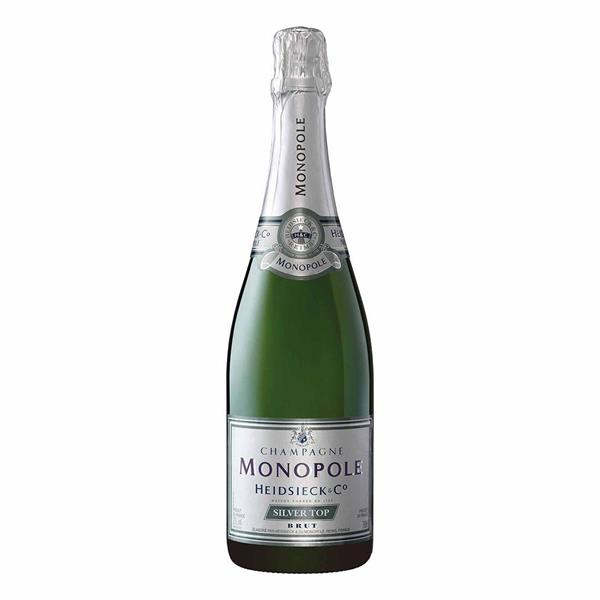 CHAMPAGNE HEIDSIECK MONOPOLE SILVER TOP CL 75